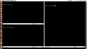 Open Multiple Program in Single VIM Editor